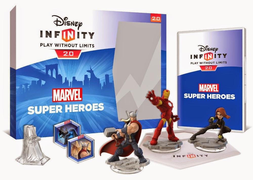 VIDEOJUEGOS :  DISNEY Infinity 2.0 Marvel Super Heroes - Starter Pack   (Disney, Septiembre 2014)  Producto Oficial   A partir de 7 años