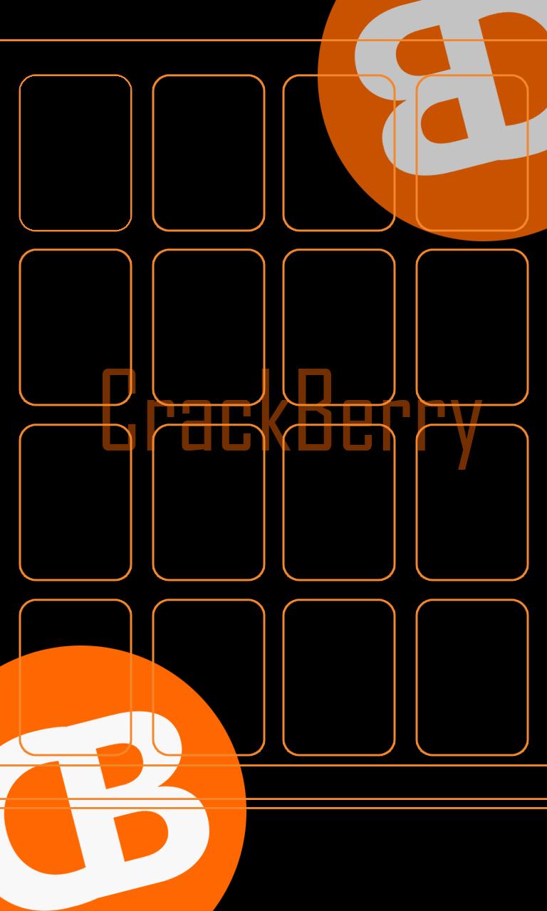 CrackBerry Logo Z10 Wallpapers