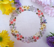 Embroidered Garland