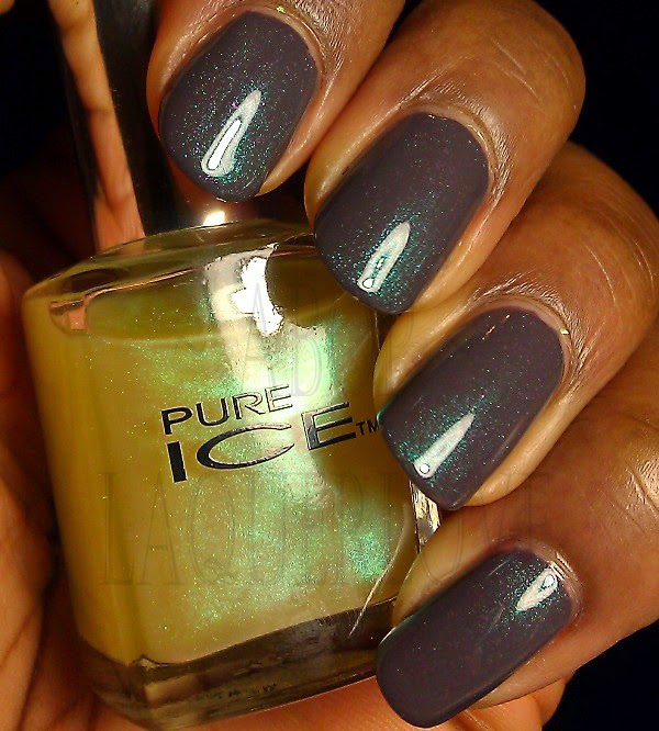 ANOTHER Bottle of Polish?!: Swatch: Pure Ice - Moonlight, with Pure ...