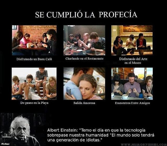 Se cumple la profecia de Albert Einstein