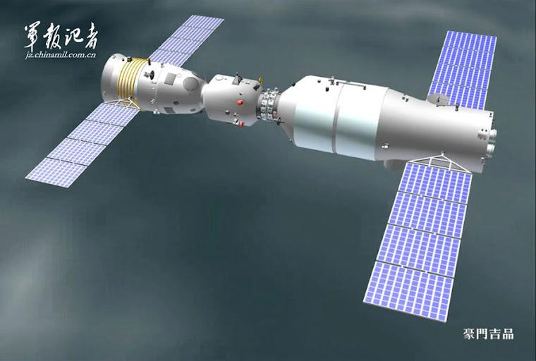 Chiny gotowe do pierwszego dokowania w przestrzeni