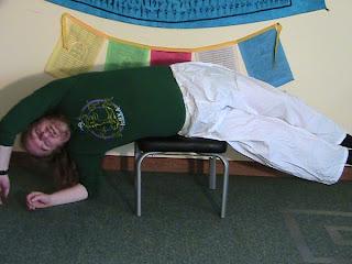 Side Lying Pose on Body Lift Headsander