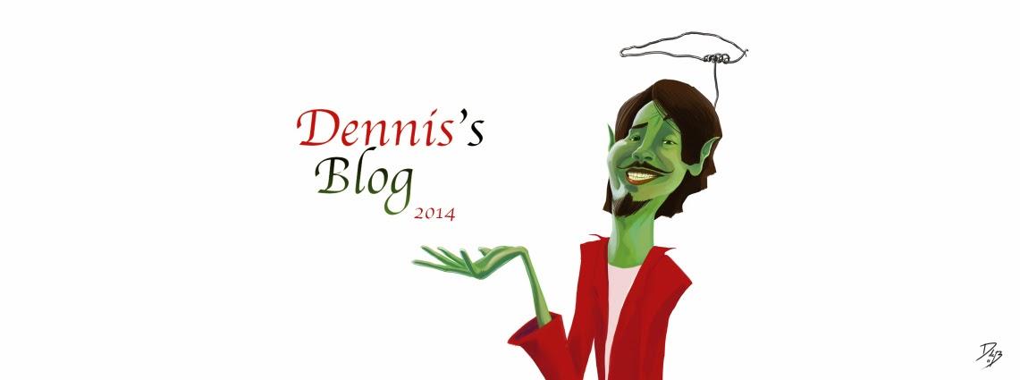 Dennis zijn creatieve hoekje