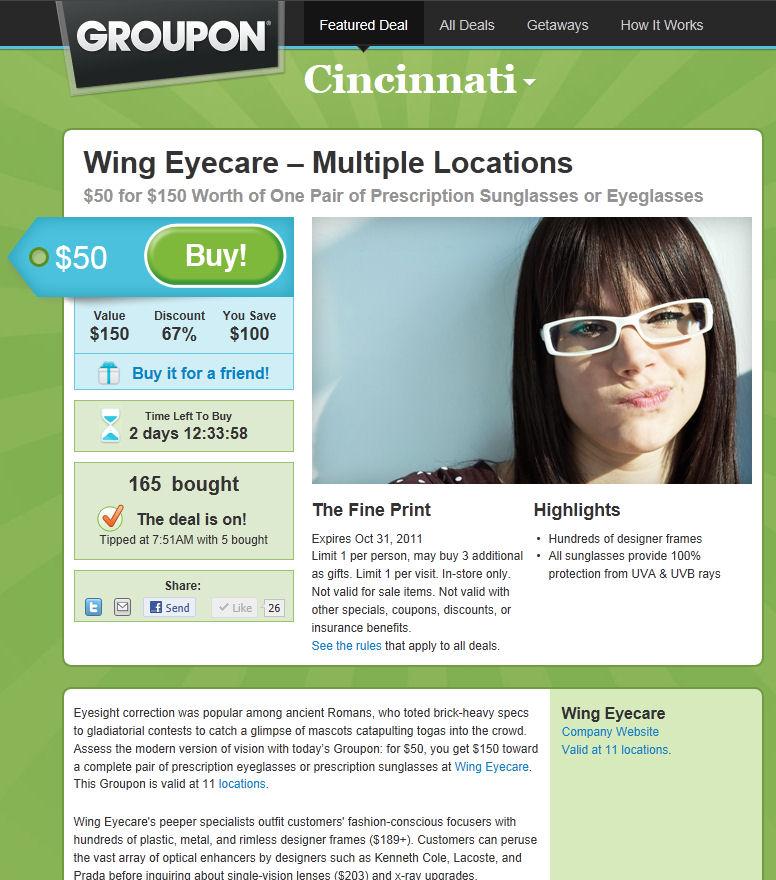 Wing eyecare cincinnati eye doctor blog august 2011 for Wing eyecare