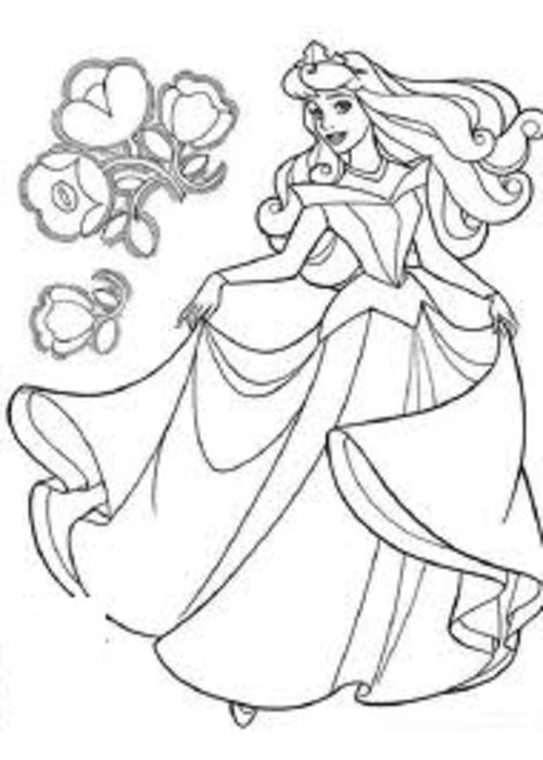 Sleeping Beauty Coloring Pages Free For Kids Gtgt Disney