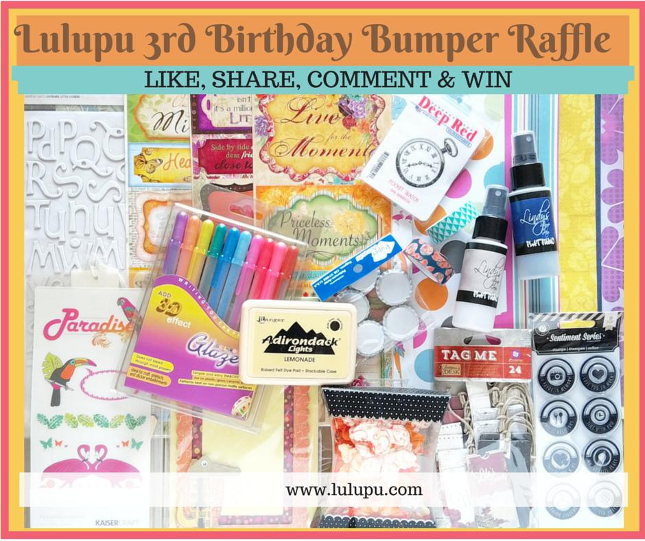 Lulupu 3rd Birthday Bash Raffle
