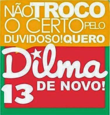 Votamos Dilma 13