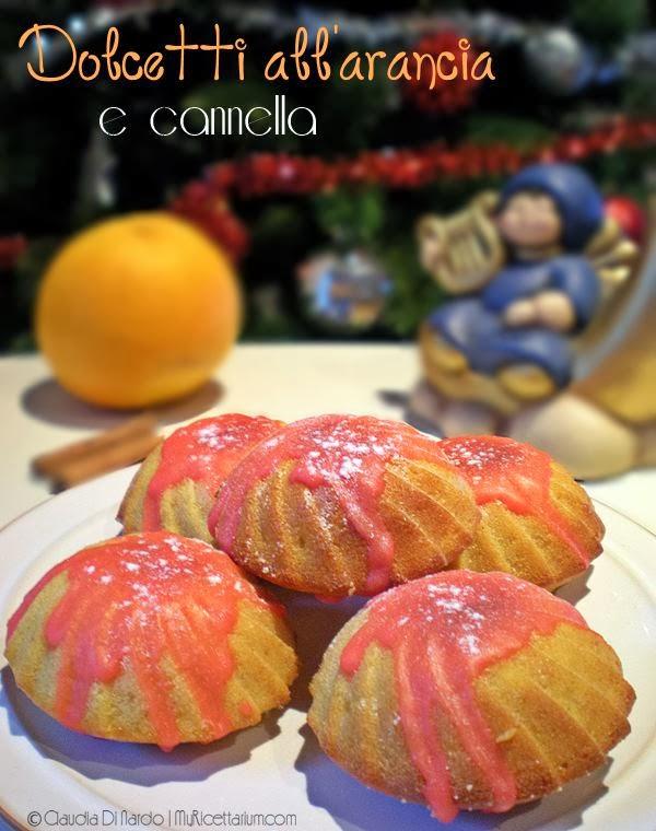 dolcetti all'arancia e cannella