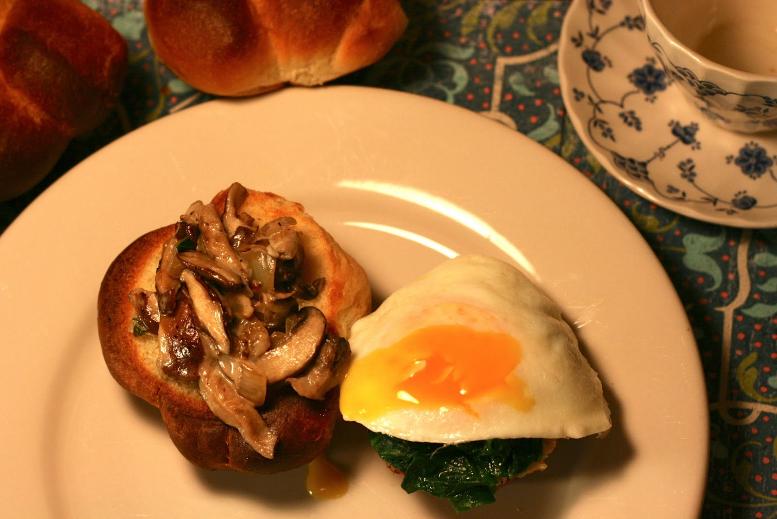 Creamy Mushrooms and Eggs #French Fridays with Dorie ...