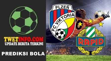 Prediksi Viktoria Plzen vs Rapid Wien