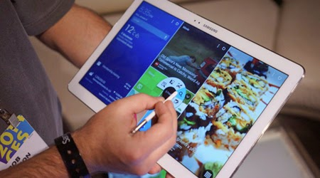 Exclusive features in the Galaxy NotePRO