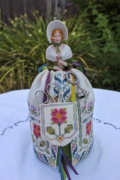 California Stitcher: Elizabeth Half Doll Pincushion ...