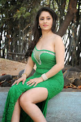 Ankita Sharma Hot photo shoto in Green-thumbnail-12