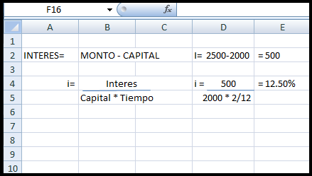 EJERCICIOS DE MATEMATICA FINANCIERA (EXCEL) | ILIANA GAR\'OFALO