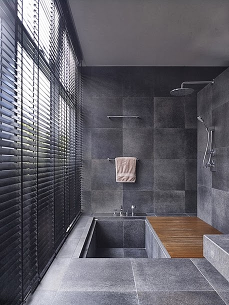 World of architecture 20 cool showers for contemporary homes for Cool modern bathrooms