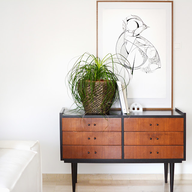 Styling the old drawer - the round button blog
