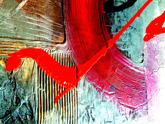 ABSTRACT DECORATIVE PAINTINGS BY PETER DRANITSIN