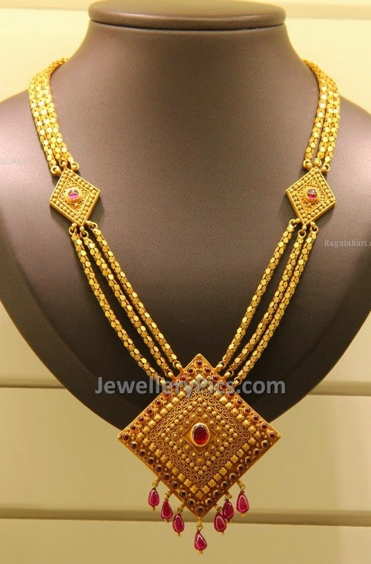 kirtilal gold necklace