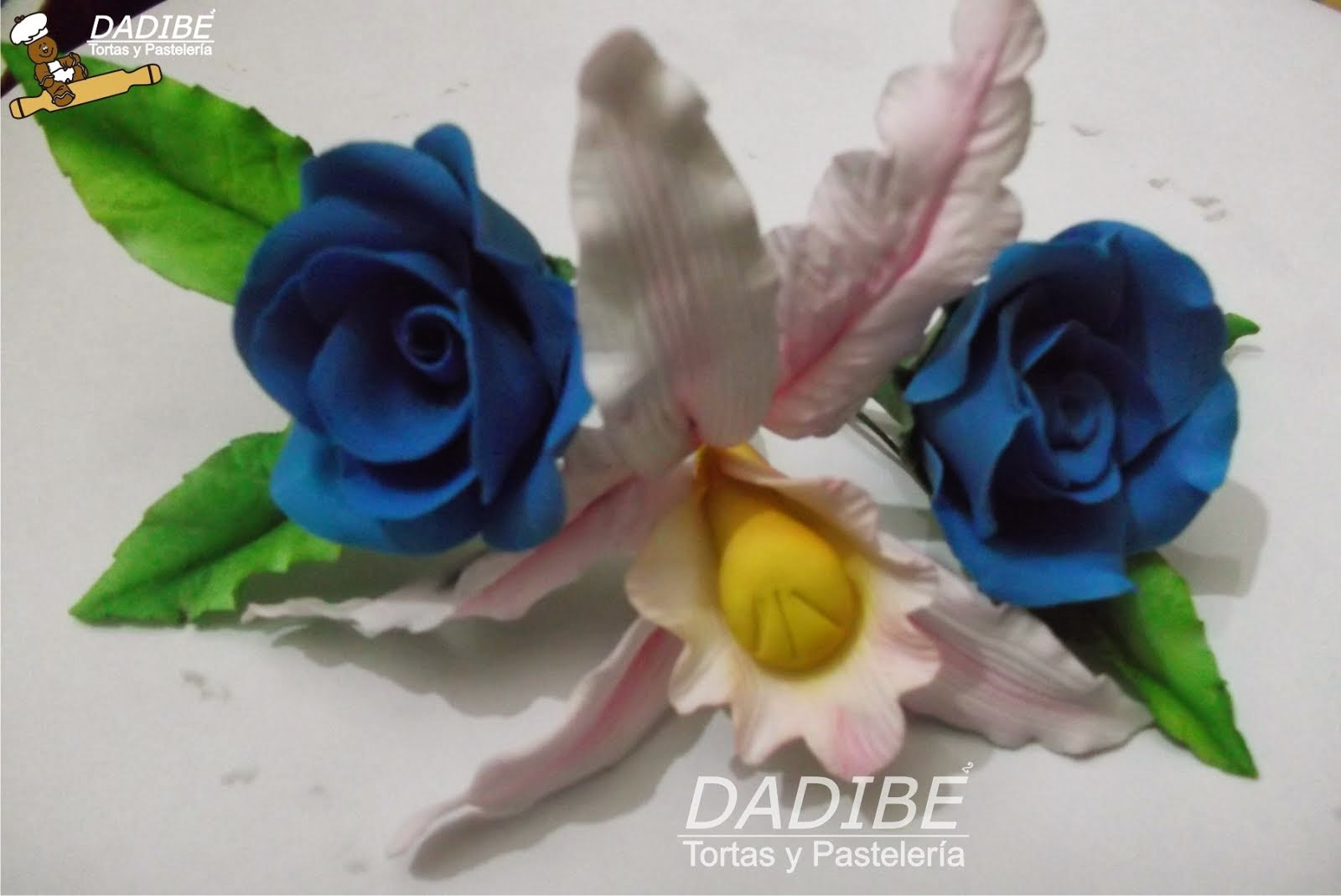 Flores en azúcar