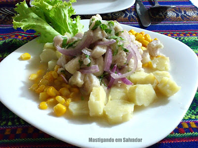 Pisco Mar Cevicheria Bar: Ceviche de Pescado