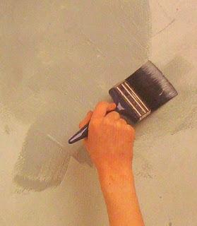 Técnica de Pintura con Esponja, Paso a Paso