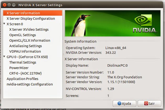 Driver Nvidia Ubuntu
