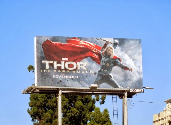 Thor Dark World billboard