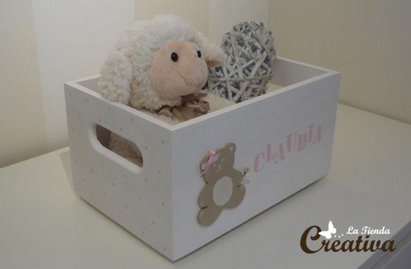 Cajas decoradas para niñas - La Tienda Creativa - Letras para ...