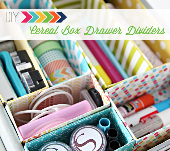 Creative mess pinterest monday 3 cereal boxes for I heart organizing
