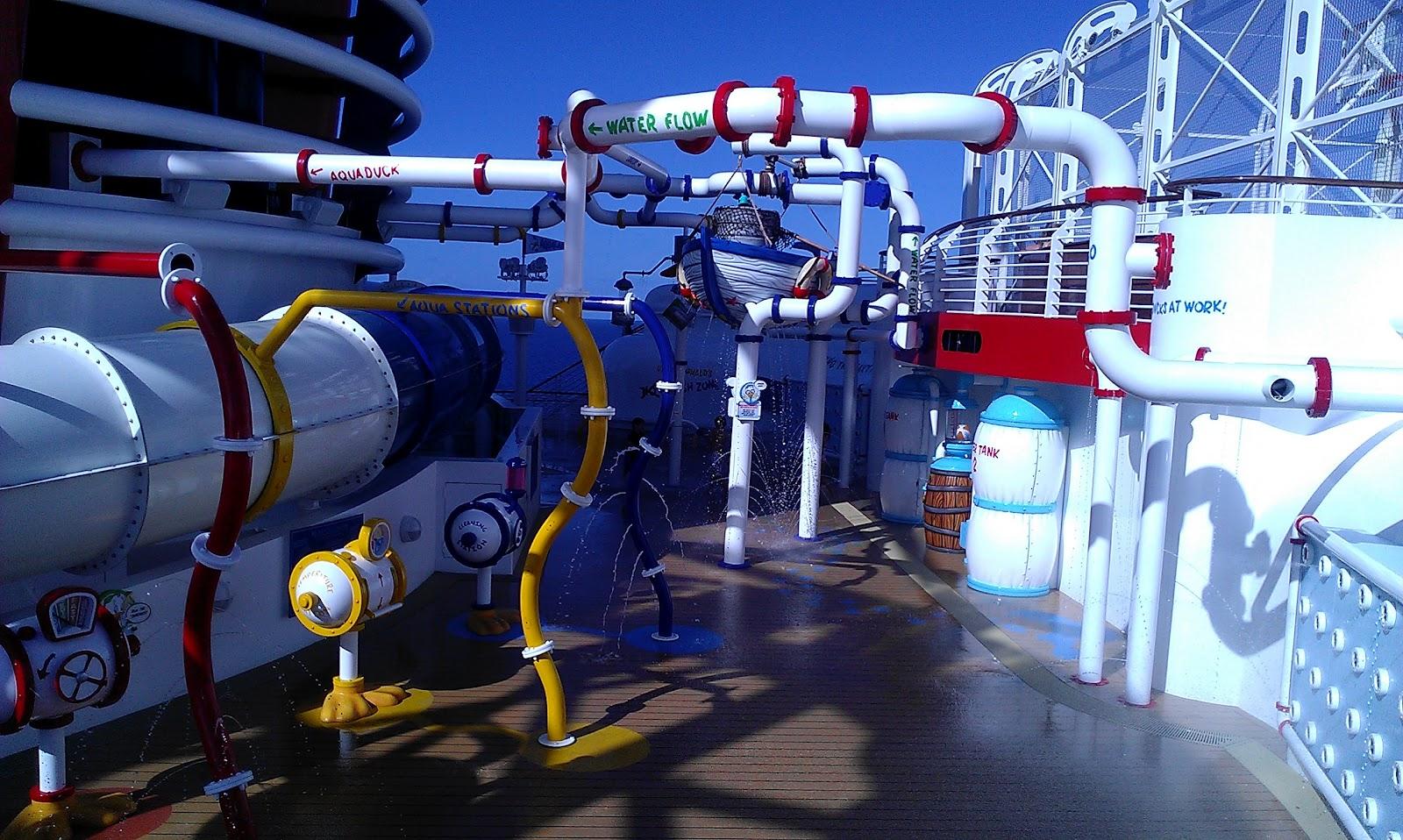 Aqua Lab Disney Fantasy Cruise ship