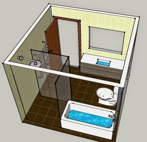 3d bathroom design software free for Free 3d bathroom design software
