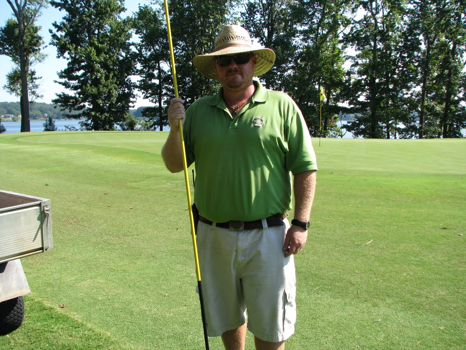 The bear trace at harrison bay golf course maintenance
