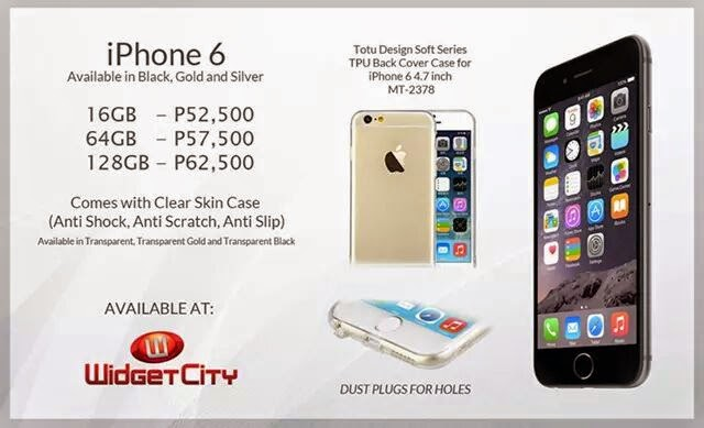iPhone 6 Widget City Prices Philippines