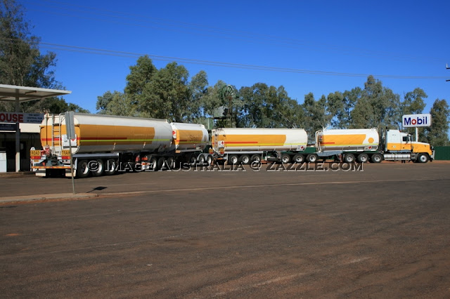 Road Train Outback Australia - © www.zazzle.com/imageaustralia
