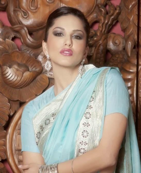 hot desi bhabhi actress sunny leone saree removing latest top stills ...