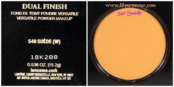 Fun Fierce Fabulous Beauty Over 50!: Swatches ~ Lancome Dual ...