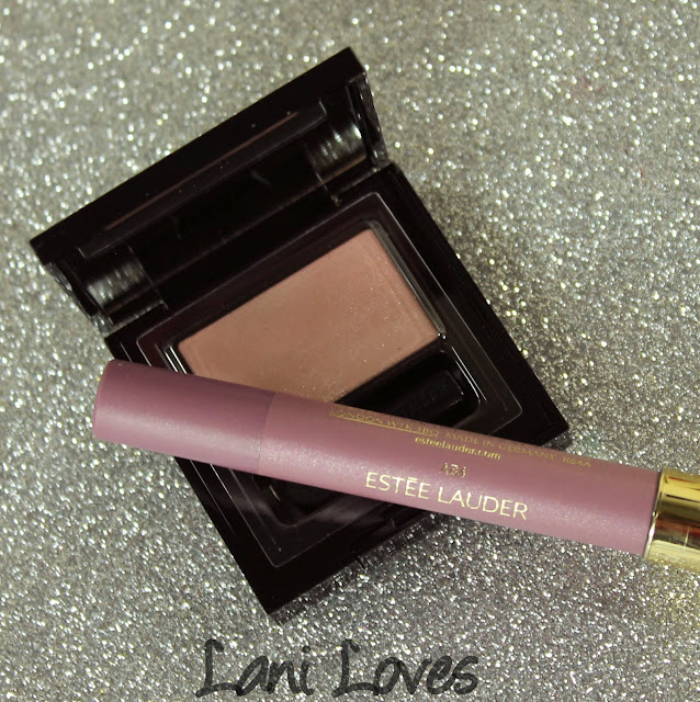 Estee Lauder Pure Color Envy Eye Defining Singles - Cheeky Pink and Magic Smoky Powder Shadow Stick - Pink Charcoal Swatches & Review