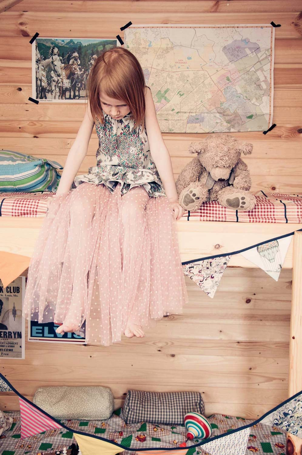 Girls' clothes by Hebe for spring 2014 children's clothes collection