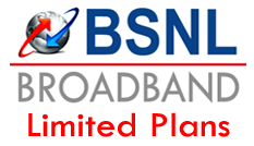 Broadband Limited Data Usage Plans BSNL
