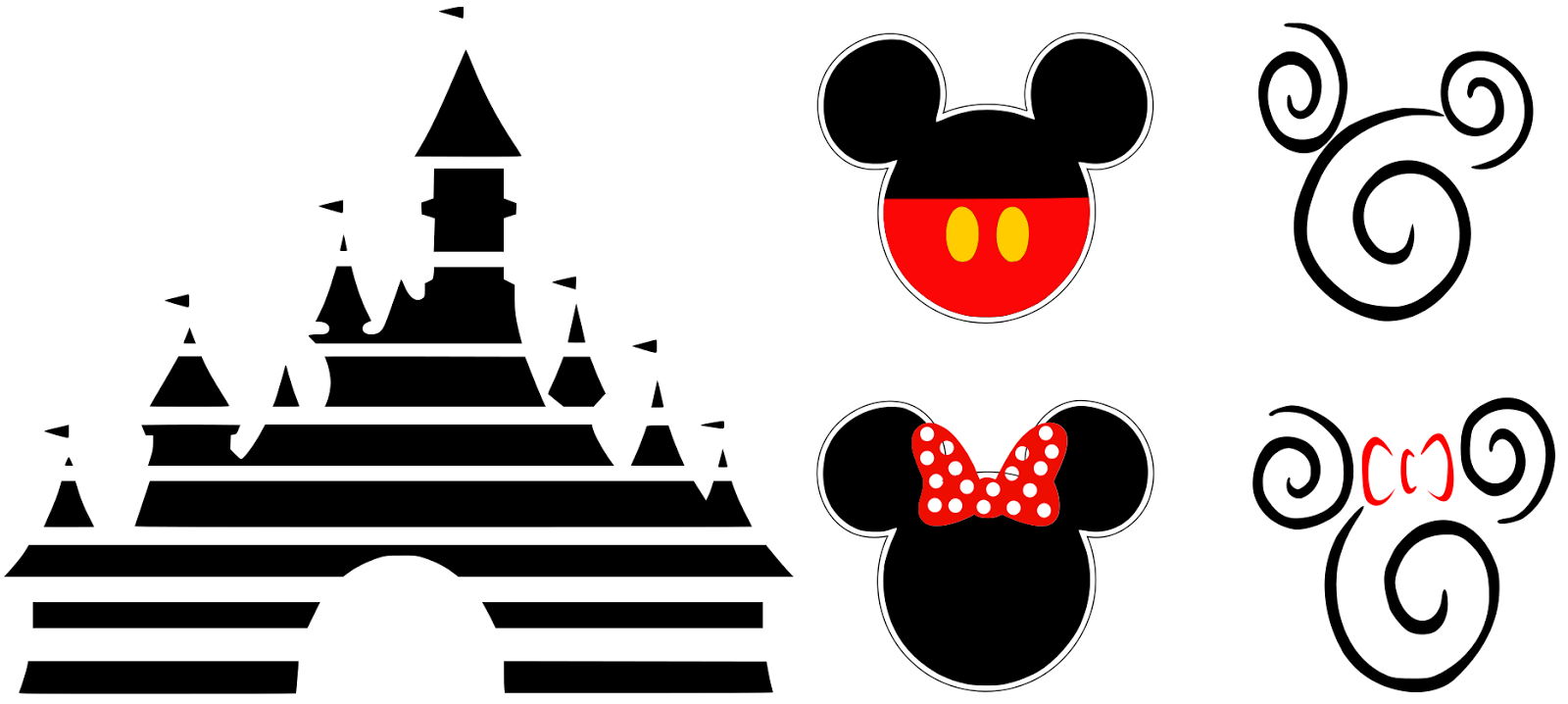 So  this is what I came up with   Disney Pixar Logo Castle