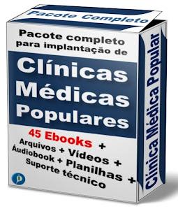 45 E-books + Vídeos + Documentos + Planilhas + Consultoria Online