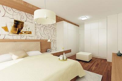 elegante dormitorio matrimonial