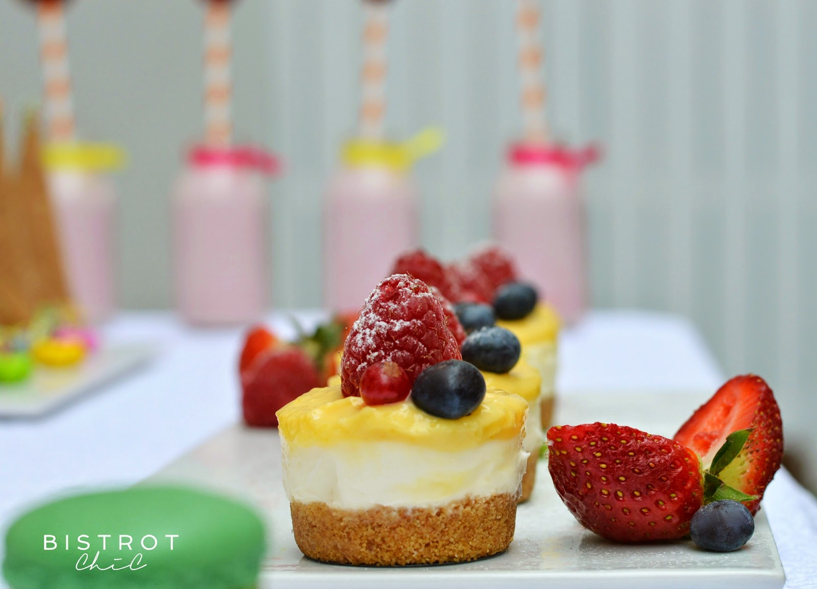 Spring Party Cheesecake by BistrotChic