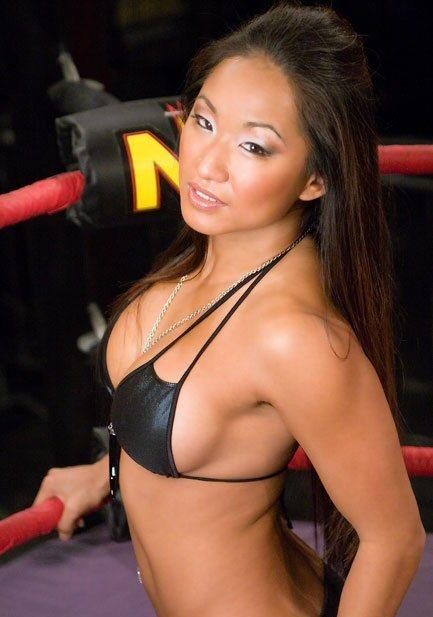 wrestling stars  gail kim profile  u0026 images 2011