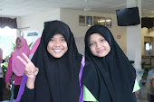 This Is Huda(again..) and Aisyah,my dormmate