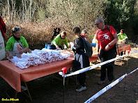 L'avituallament de l'esmorzar a prop de la Riera de Sant Sebastià. Autor: Carlos Albacete