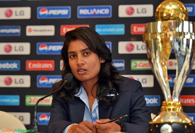 Mithali Raj Women's World Cup WWC 2013 India Cricket News Images/Photos Career
