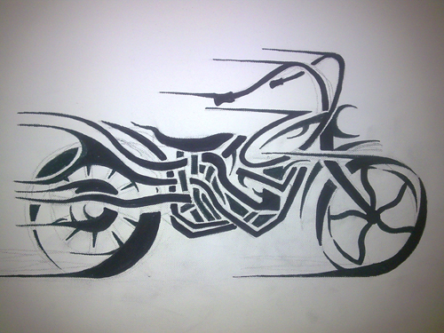 Bubbamike 39 s ramblings tattoo for Tattoo designs motorcycle