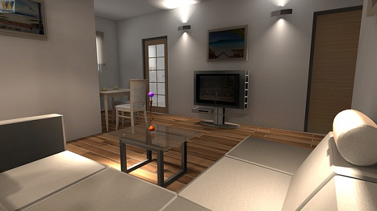 Simple interior concepts 3d home design software for for Easy interior design software